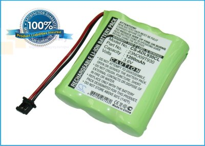 Аккумулятор CS-ADL930CL для Ascom Linga plus 3,6V 1200Ah Ni-MH