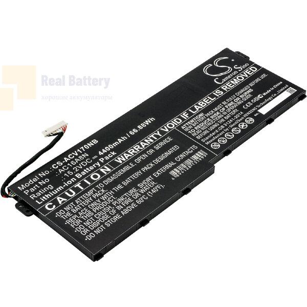 Аккумулятор CS-ACV170NB для Acer Aspire V17 Nitro  15,2V 4400mAh Li-ion