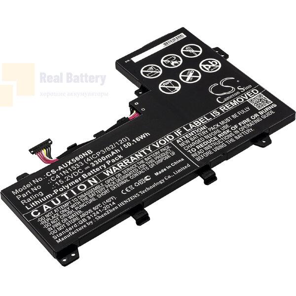 Аккумулятор CS-AUX560NB для Asus Q524U  15,2V 3300mAh Li-Polymer