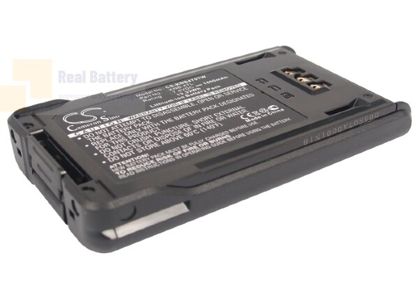 Аккумулятор CS-KNB470TW для KENWOOD NX-200 7,4V 1800Ah Li-ion