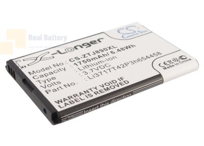Аккумулятор CS-ZTJ890XL для ZTE Authentic 3,7V 1750Ah Li-ion