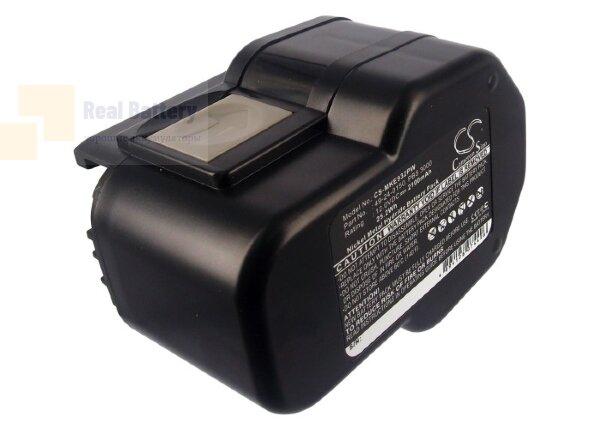 Аккумулятор для Milwaukee 0502-23 12V 2,1Ah Ni-MH CS-MKE932PW