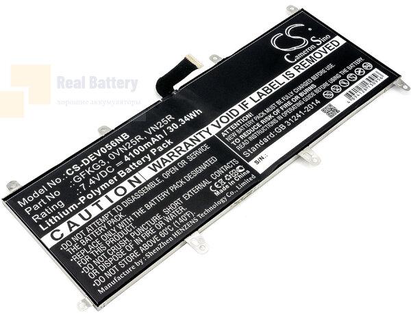 Аккумулятор CS-DEV056NB для DELL Venue 10 Pro  7,4V 4100mAh Li-Polymer