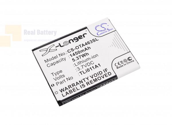 Аккумулятор CS-OTA463SL для TRACFONE A463 3,7V 1450Ah Li-ion