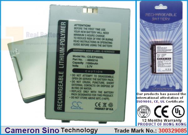 Аккумулятор CS-EP300SL для Yakumo Omikron 3,7V 1300Ah Li-Polymer