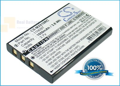 Аккумулятор CS-MX810RC для Universal MX-810 3,7V 1050Ah Li-ion