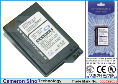 Аккумулятор CS-SP110SL для Sony PSP-1000 3,7V 1800Ah Li-ion