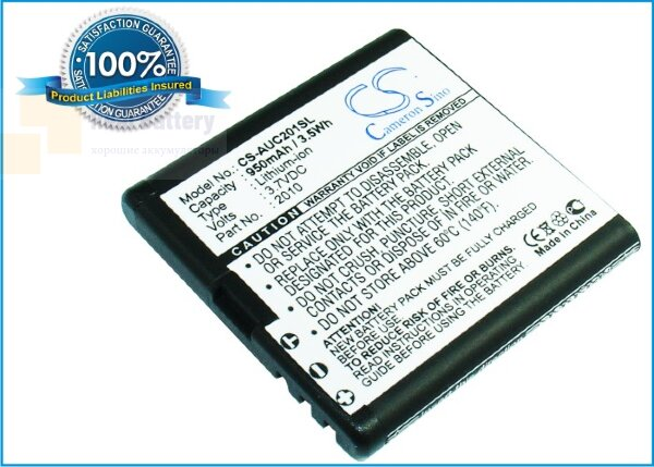 Аккумулятор CS-AUC201SL для TELEFUNKEN eurofon T900 3,7V 800Ah Li-ion