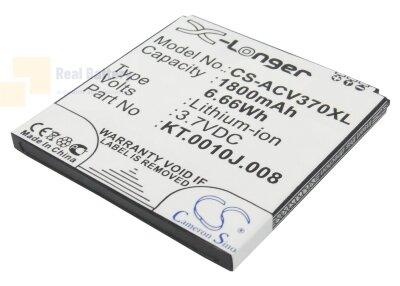 Аккумулятор CS-ACV370XL для Acer Liquid E2 3,7V 1800Ah Li-ion