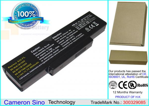 Аккумулятор CS-AUF3NB для Asus A9  11,1V 4400mAh Li-ion