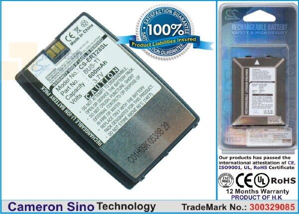 Аккумулятор CS-ERT28SL для Sony Ericsson R320 3,7V 600Ah Li-ion