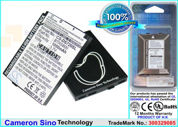 Аккумулятор CS-DS720SL для Verizon 5800 3,7V 1050Ah Li-ion