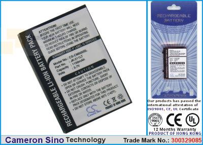 Аккумулятор CS-CM500SL для Casio Cassiopeia EM500 3,7V 1150Ah Li-ion
