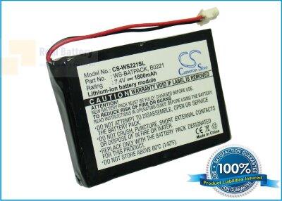 Аккумулятор CS-WS221SL для William Sound Sorin 7,4V 1800Ah Li-ion