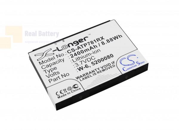 Аккумулятор CS-ATP781RX для Netgear Around Town 4G LTE 3,7V 2400Ah Li-ion