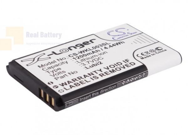 Аккумулятор CS-WKL003SL для TWZ D2 3,7V 1200Ah Li-ion