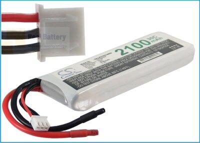 Аккумулятор CS-LP2102C30RN для RC CS-LP2102C30RN 7,4V 2100Ah Li-Polymer