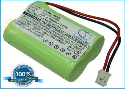 Аккумулятор CS-PHC466MB для Philips SBC466 2,4V 1200Ah Ni-MH
