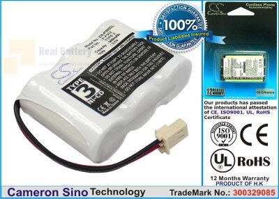 Аккумулятор CS-P302CL для Vodavi 901700 3,6V 600Ah Ni-MH