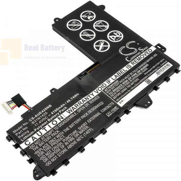 Аккумулятор CS-AUE420NB для Asus E402MA  11,4V 4100mAh Li-Polymer