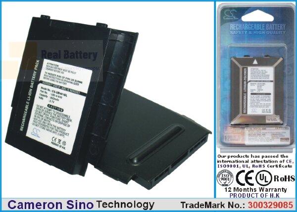 Аккумулятор CS-UB401SL для UBiQUiO 401 3,7V 850Ah Li-ion