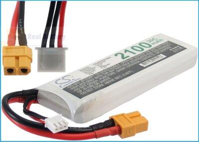 Аккумулятор CS-LP2102C30R5 для RC CS-LP2102C30R5 7,4V 2100Ah Li-Polymer