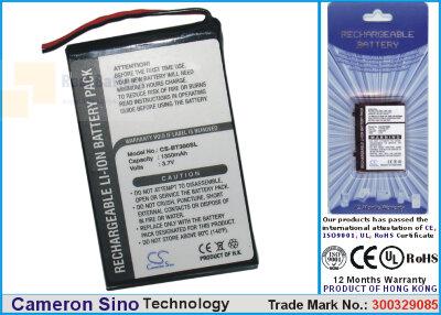 Аккумулятор CS-BT300SL для DELL BT GPS BT-309 3,7V 1000Ah Li-ion