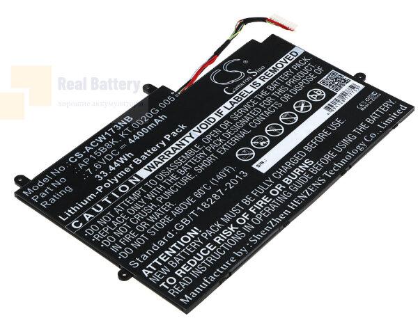 Аккумулятор CS-ACW173NB для Acer Aspire Switch 11 SW5-173  7,6V 4400mAh Li-Polymer