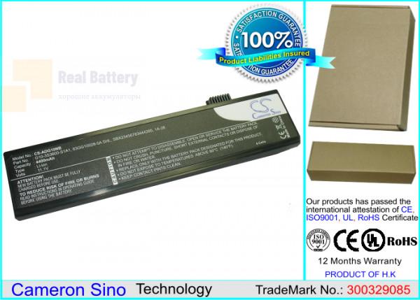 Аккумулятор CS-ADG10NB для ECS G10L  11,1V 4400mAh Li-ion