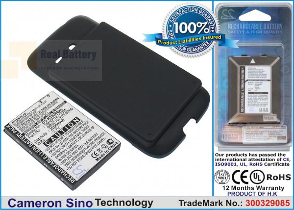 Аккумулятор CS-HT6200XL для Verizon Droid Eris 3,7V 2200Ah Li-ion