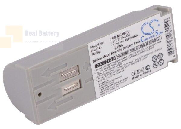 Аккумулятор CS-MC960SL для 3M C1025 Transceiver 1,2V 1500Ah Ni-MH