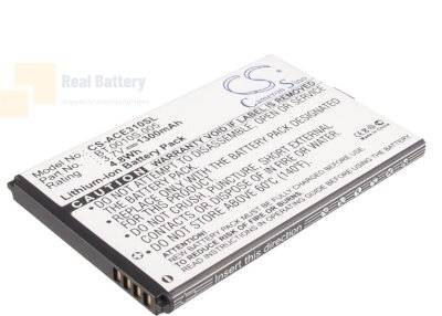 Аккумулятор CS-ACE310SL для Acer beTouch E210 3,7V 1300Ah Li-ion