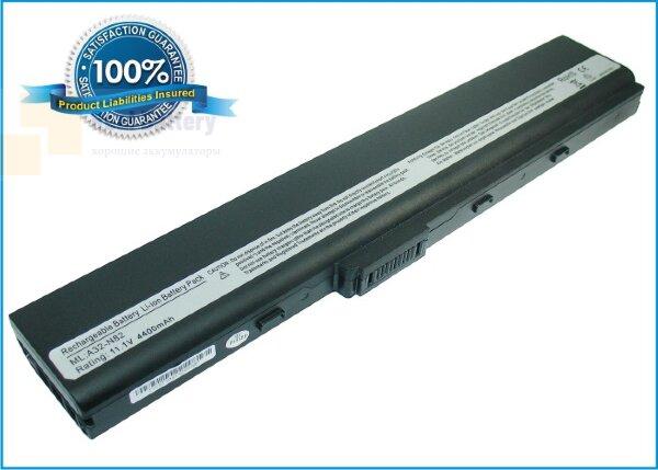 Аккумулятор CS-AUN82NB для Asus N82  10,8V 4400mAh Li-ion