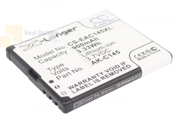 Аккумулятор CS-EAC145XL для TELME C145 3,7V 900Ah Li-ion