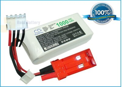 Аккумулятор CS-LP1003C30RT для RC CS-LP1003C30RT 11,1V 1000Ah Li-Polymer