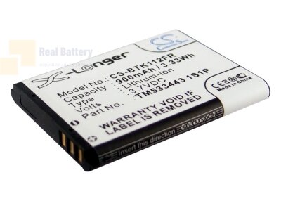 Аккумулятор CS-BTK112FR для Callstel BFX-300 3,7V 900Ah Li-ion