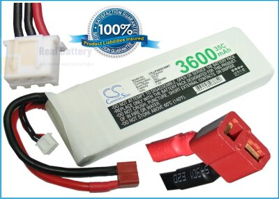Аккумулятор CS-LP3602C35RT для RC CS-LP3602C35RT 7,4V 3600Ah Li-Polymer