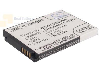 Аккумулятор CS-PCD603MB для Philips SCD603 3,7V 1100Ah Li-ion