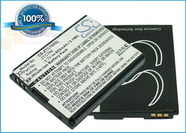 Аккумулятор CS-ZTC760SL для ZTE C76 3,7V 850Ah Li-ion