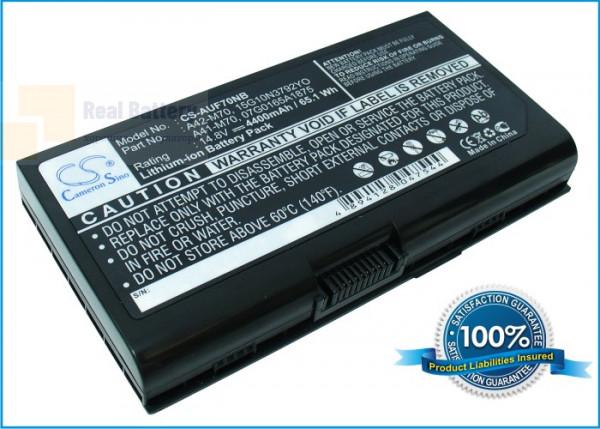 Аккумулятор CS-AUF70NB для Asus F70  14,8V 4400mAh Li-ion