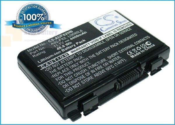 Аккумулятор CS-AUF82NB для Asus F52  11,1V 4400mAh Li-ion
