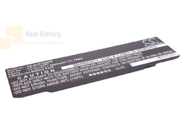 Аккумулятор CS-AUP108NB для Asus Eee PC 1008  10,95V 2900mAh Li-Polymer