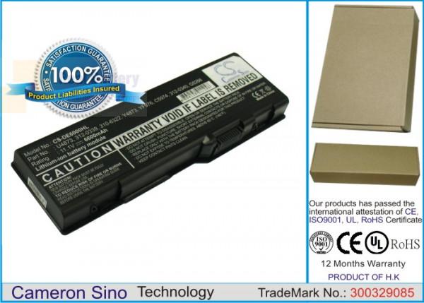 Аккумулятор CS-DE6000HL для DELL Inspiron 6000  11,1V 6600mAh Li-ion