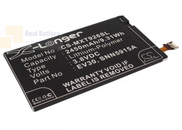 Аккумулятор CS-MXT926SL для Verizon Droid Razr HD 3,8V 2450Ah Li-Polymer