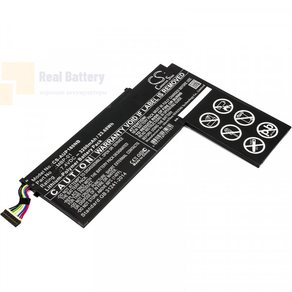Аккумулятор CS-AUP180NB для Asus P1801-B037K  7,4V 3200mAh Li-Polymer