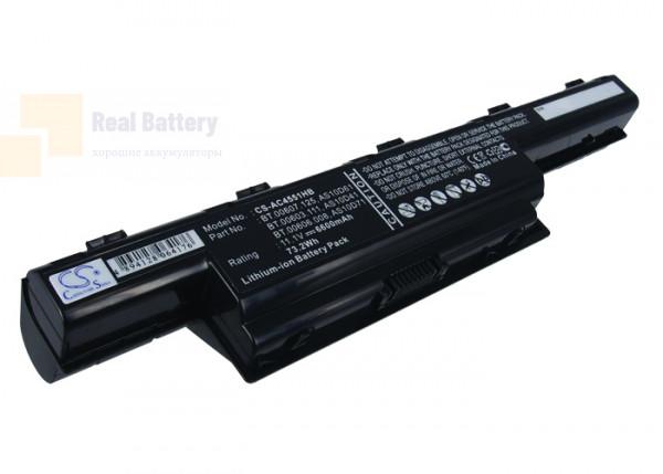 Аккумулятор CS-AC4551HB для eMachines D442  11,1V 6600mAh Li-ion