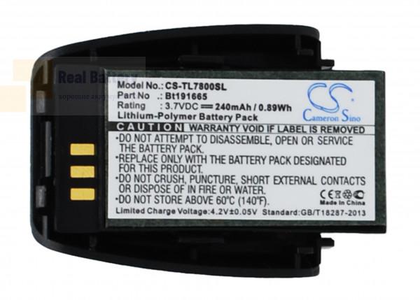 Аккумулятор CS-TL7800SL для AT&T SB3014 3,7V 240Ah Li-Polymer