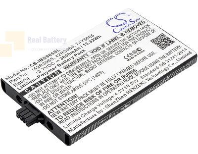 Аккумулятор CS-IBS965SL для IBM 45906 3,7V 3600Ah Li-Polymer