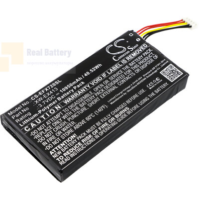 Аккумулятор CS-EFX720SL для EXFO MAX-710B 3,7V 10950Ah Li-Polymer