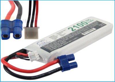 Аккумулятор CS-LP2102C30R3 для RC CS-LP2102C30R3 7,4V 2100Ah Li-Polymer